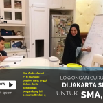 LOWONGAN GURU PRIVAT DI Jembatan Besi Jakarta Barat : INFO LOKER GURU PRIVAT UNTUK UJIAN SBMPTN