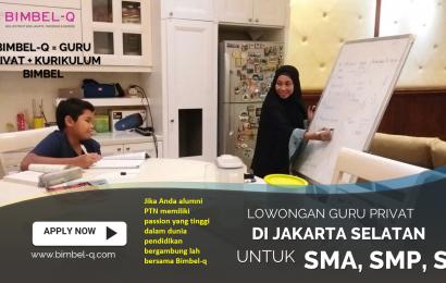 LOWONGAN GURU PRIVAT DI Utan Panjang Jakarta Pusat : INFO LOKER GURU PRIVAT UNTUK SMP
