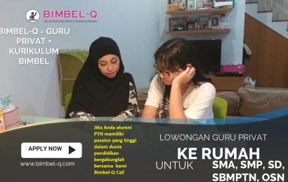 LOWONGAN GURU PRIVAT DI Kamal Jakarta Barat : INFO LOKER GURU PRIVAT UNTUK UJIAN SBMPTN