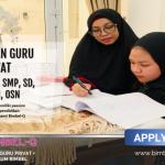 LOKER GURU SMP:INFO LOKER DI Karya Mekar Bogor
