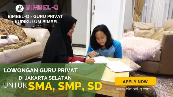 LOWONGAN GURU PRIVAT DI Jati Pulo Jakarta Barat : INFO LOKER GURU PRIVAT UNTUK SD
