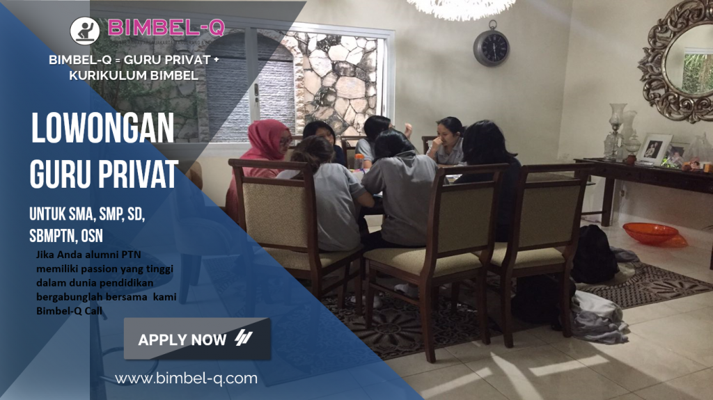 LOWONGAN GURU PRIVAT DI Kampung Rawa Jakarta Pusat : INFO LOKER GURU PRIVAT UNTUK SD
