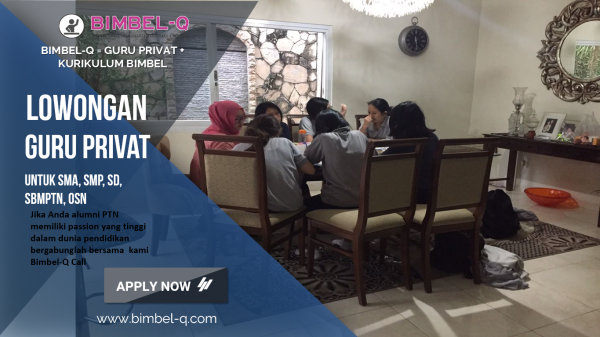 LOWONGAN GURU PRIVAT DI Galur Jakarta Pusat : INFO LOKER GURU PRIVAT UNTUK SMP
