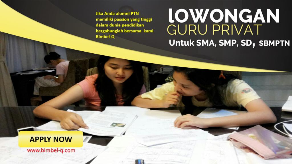 LOWONGAN GURU PRIVAT DI Jati Padang Jakarta Selatan : INFO LOKER GURU PRIVAT UNTUK OSN